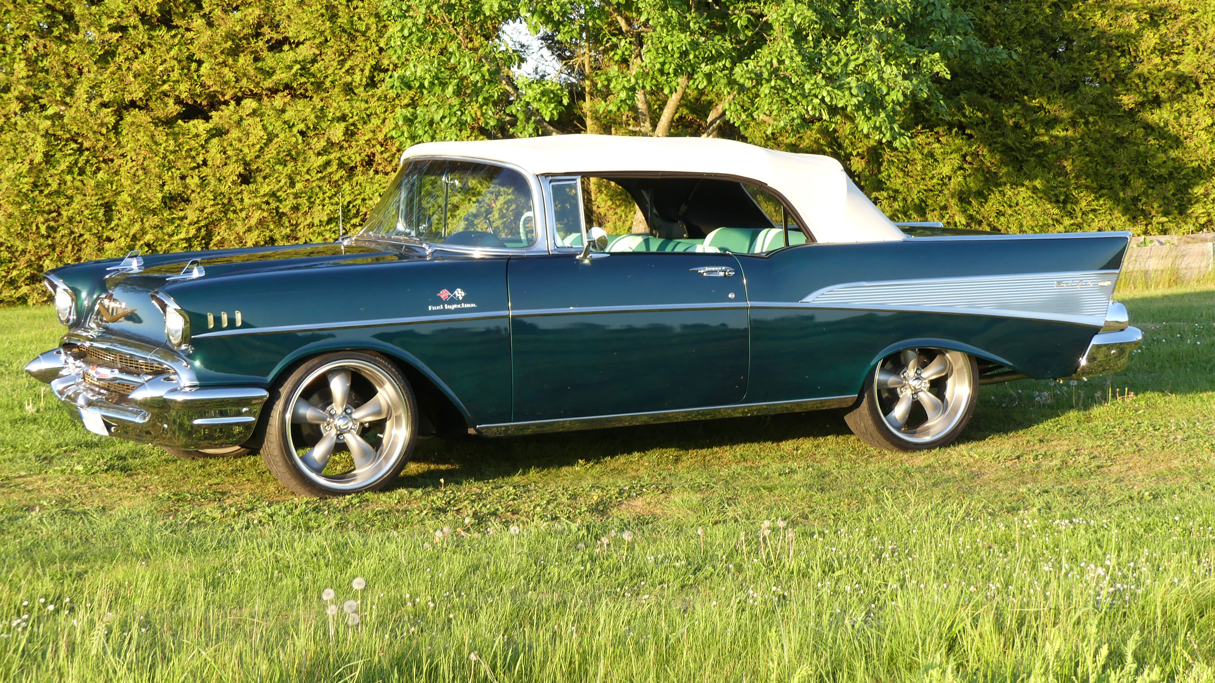 chevrolet bel air 1957 convertible classic cars south. Black Bedroom Furniture Sets. Home Design Ideas